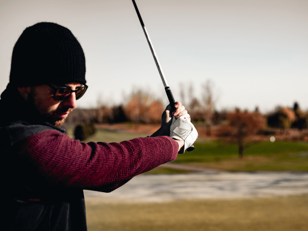 use golf glove to improve your grip | Invictus Golf Gloves